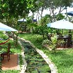 cassia cottages outdoor dinning