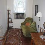 """side room with """"fainting couch"""""""
