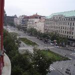 room view- Venceslas square
