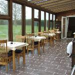 conservatory where breakfast is served