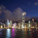 Convenient location to HK and Kowloon destinations (photo from Kowloon side)