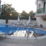 Early Evening Pool Area