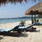 sa plage privée