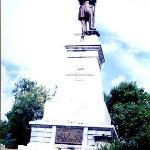 展望台の像