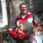 This iw what its all about...halfway up hike to vernal falls.
