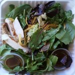 barely there! (thai chicken salad!?)