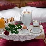 double room- romantic breakfast