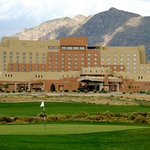 Sandia Resort & Casino with views of Sandia Mountains and Sandia Golf Club