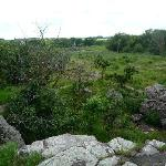 go south to Pipestone National Monument