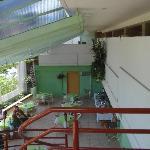 la terraza y el restautante