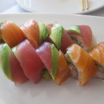 My sushi roll... very fresh and yummy!