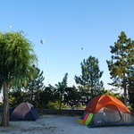 Kaya Camping Tents, Balloons and Views