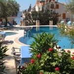 Relax by the pool at the Oreo Hotel, Kas, Turkey