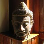 Bust of Jayavarman on 1st floor