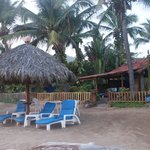 Bungalow Azul from the Beach