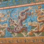 The Nine Dragon Wall in Chicago's Chinatown