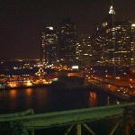 Brooklyn Bridge after dinner