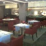 The Fenix restaurant in the lobby