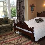 Relax in our stylish bedrooms just a few minutes walk from the Conference Centre & town