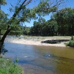 Río Barrancas. Cerca del pueblo