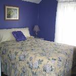 Purple Bedroom - Double bed