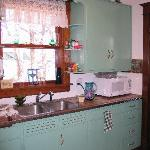Kitchen #1 - Microwave, fridge w/icemaker, coffeemaker, wafflemakers, dishwasher, lots of dishes