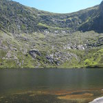 pool at Conor Pass