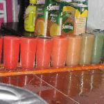 Rainbow shots!