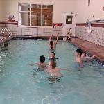small heated indoor pool