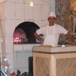 Appo and his stone oven