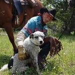 Cowboy Dave & Appy the dog