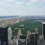 View from  Top of the Rock with Central Park