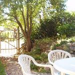private guest patio - sit out and enjoy our peaceful neighbourhood