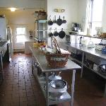 hostel kitchen. Guests are responsible for own meal preparation and cleanup