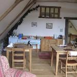 Breakfast room/lounge