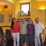 Mara, Agassis, Haydée e Alessandro
