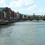 the beautiful River Liffey!