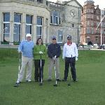 St Andrews Golf group - with our Host James Yule