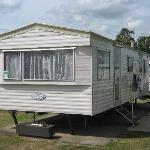 Our 'promotional unit' Caravan!