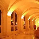 Cloister Style Hallways