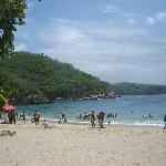 Playa La Entrega, snorkeling beach