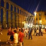 夜のアソゲホ広場