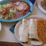 The fish tacos, so good!