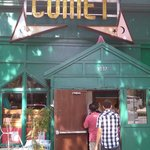 Front Entrance of Comet Ping Pong