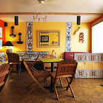 Dining room of Karoo Kafe