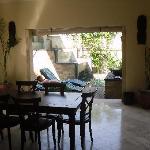 downstairs area of villa 301