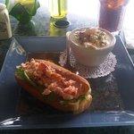 Lobster Roll & Seafood Chowder
