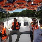 2 hours enjoyable boat ride, borneo eco tours.