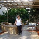 Terrasse vom Creta Solaris
