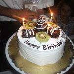 the birthday cake of my sister